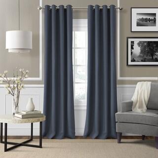elrene essex grommet linen curtain panel na