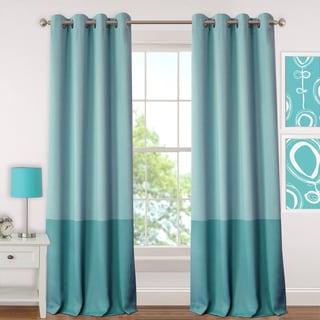 Elrene Madeline Juvenile Room Darkening Grommet Curtain Panel - N/A