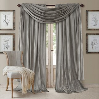 Elrene Athena Rod Pocket Curtain Panel Set of 3 (More options available)
