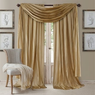 Elrene Athena Rod Pocket Curtain Panel Set of 3 - N/A