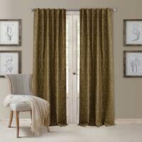 Elrene Antonia Blackout Rod Pocket/Back Tab Curtain Panel