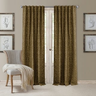 Elrene Antonia Blackout Rod Pocket/Back Tab Curtain Panel