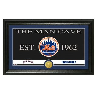 New York Mets MLB Bronze Coin Panoramic Photo Mint