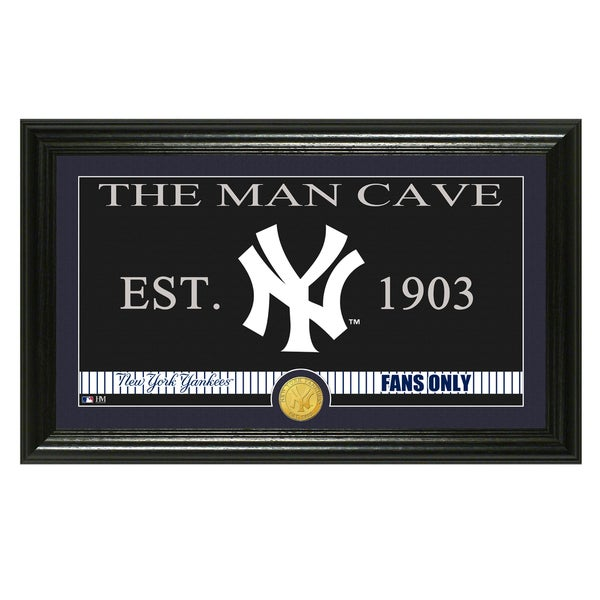 New York Yankees MLB Bronze Coin Panoramic Photo Mint