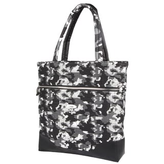 OUUL Ribbed Silver Classic Camo Tote Bag