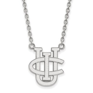 Sterling Silver LogoArt U of California-Irvine Large Pendant with Necklace