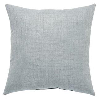 Camden Indoor/ Outdoor Solid Gray 18-inch Throw Pillow