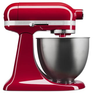 KitchenAid Empire Red Artisan Mini 3.5 Quart Tilt-Head Stand Mixer (Refurbished)