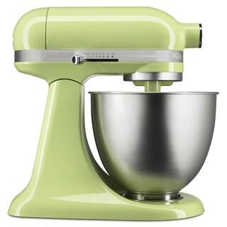 KitchenAid Honeydew Artisan Mini 3.5 Quart Tilt-Head Stand Mixer (Refurbished)