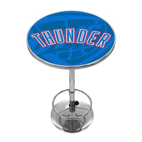 """NBA Chrome Pub Table - Fade - 31""""H"""
