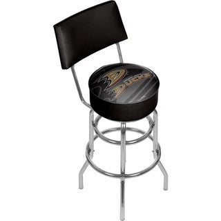 NHL Swivel Bar Stool with Back - Watermark