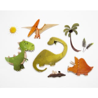 Dinosaurs 3D Wall Decals