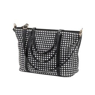 Koehler Home Decor Checkered Tote Bag