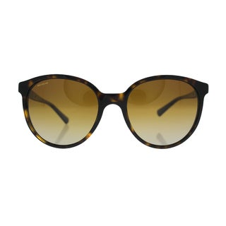 Emporio Armani AR 8043-H 5026/T5 Dark Havana Frame Brown Polarized Lens Sunglasses