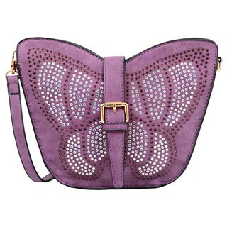 Mellow World Avery Butterfly Small Crossbody Handbag (More options available)