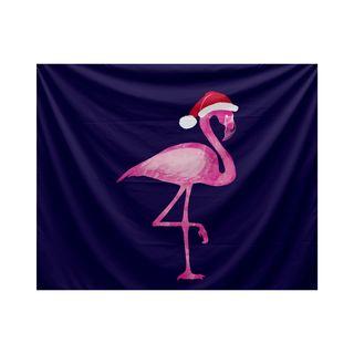 Snow Bird, Animal Print Tapestry