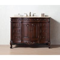 Stufurhome 48 Inches Saturn Single Sink Bathroom Vanity