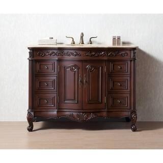 Stufurhome 48 Inches Saturn Single Sink Bathroom Vanity