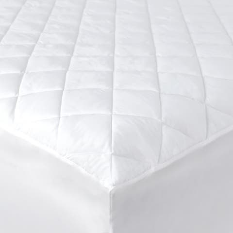 Kotter Home Economy Hypoallergenic Mattress Pad with Fitted Skirt