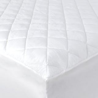 Economy Hypoallergenic Mattress Pad with Fitted Skirt