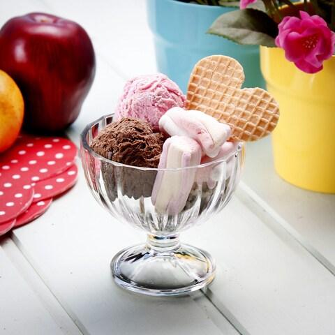 Bormioli Rocco Clear Glass Dessert Bowl (Pack of 6)