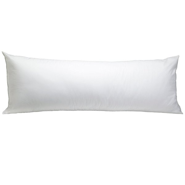Shop Super Soft 20 X 54 Inch Body Pillow White