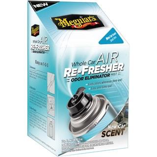 Meguiar's G16402 Whole Car Air Refresher Odor Eliminator (New Car Scent) - 2.5 oz.