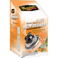 Meguiar's Whole Car Air Refresher Odor Eliminator (Citrus Grove Scent) - 2.5 oz.