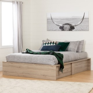 South Shore Fusion 60-inch Ottoman Queen Storage Bed