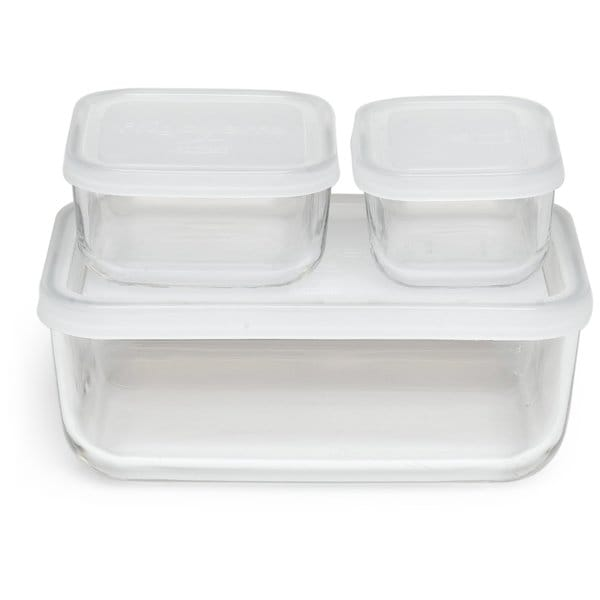 Shop Bormioli Rocco Frigoverre Basic Rectangle Glass Food Storage