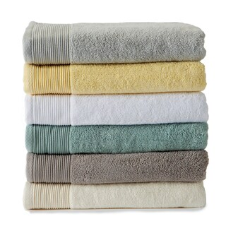 Home Fashion Designs Lavante Collection 6-piece Luxury Hotel Zero Twist Cotton Towel Set
