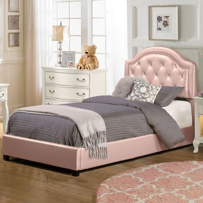Buy Pink, Glam Beds Online at Overstock | Our Best Bedroom ...
