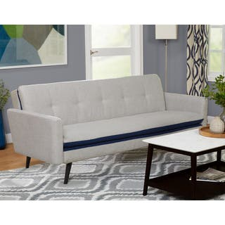 futon for living room. Simple Living Halo Fabric Futon Set Room Furniture For Less  Overstock com