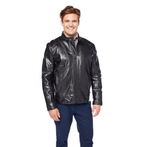 Marc New York Men's Faux Leather Jacket
