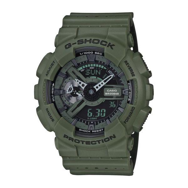 30771e6b4 Shop Casio Men's GA110LP-3A 'G-Shock' Analog-Digital Green Resin Watch -  Free Shipping Today - Overstock - 16402854