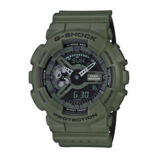 Casio Men's GA110LP-3A 'G-Shock' Analog-Digital Green Resin Watch|https://ak1.ostkcdn.com/images/products/16402854/P22752028.jpg?impolicy=medium