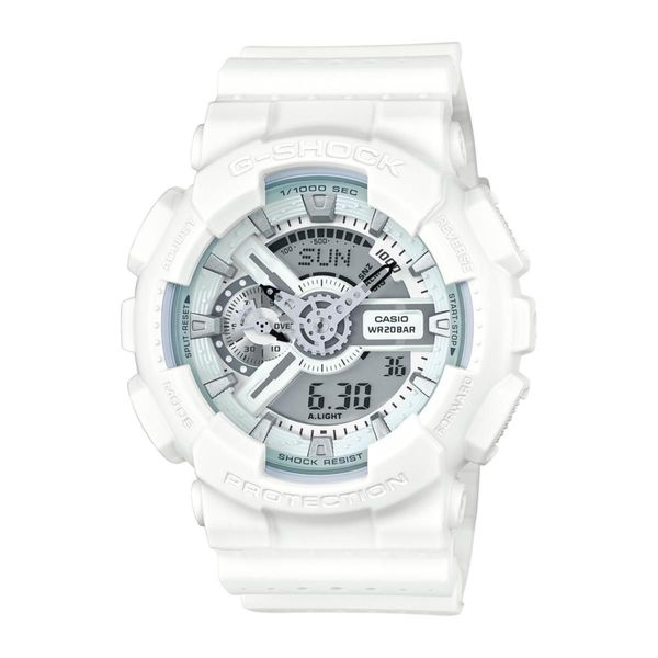 Casio G-Shock GA-110LP-7A Men's Military Perf Band Watch (White / One Size)