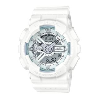 Casio Men's GA110LP-7A 'G-Shock' Chronograph Analog-Digital White Resin Watch