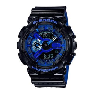 Casio Men's GA110LPA-1A 'G-Shock' Analog-Digital Black Resin Watch