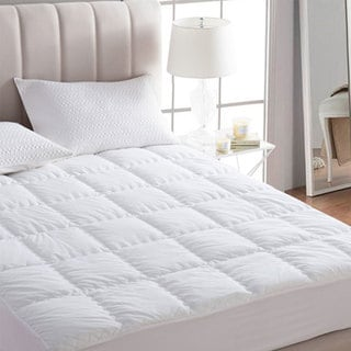 Twin Xl Size Extra Thick Dorm Mattress Pad Free Shipping