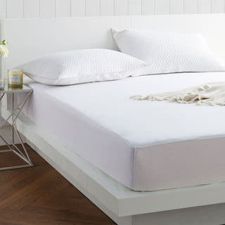 Natural Luxury Pure Tencel Mattress Protector|https://ak1.ostkcdn.com/images/products/16402871/P22752007.jpg?impolicy=medium