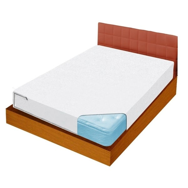 Full Size Bed Bug Barrier Mattress Protector - White