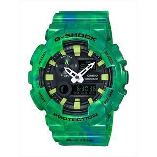 Casio Men's GAX100MB-3A 'G-Shock' Analog-Digital Green Resin Watch|https://ak1.ostkcdn.com/images/products/16402886/P22752066.jpg?impolicy=medium