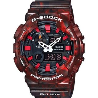 Casio Men's GAX100MB-4A 'G-Shock' Analog-Digital Red Resin Watch