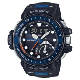 Casio Men's GWNQ1000-1A 'G-Shock' Analog-Digital BLue Resin Watch