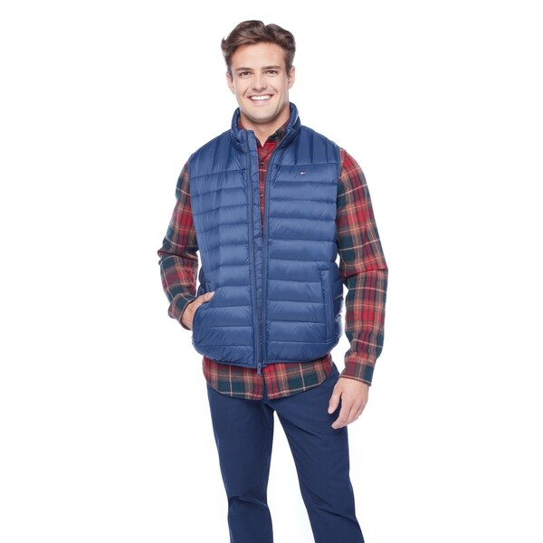 Shop Tommy Hilfiger Men's Classic Down Quilted Puffer Vest ...