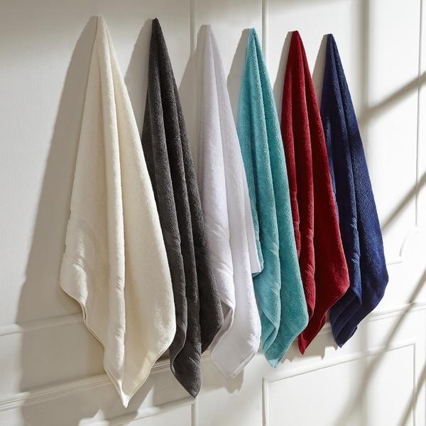 684e9eae33a32 Miranda Haus 100% Cotton Smart Dry Zero Twist, Incredibly Soft, 6-piece