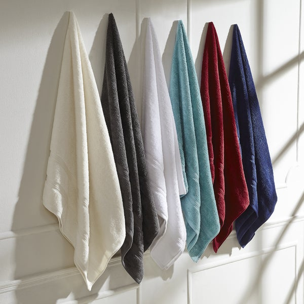 Superior 100% Cotton Smart Dry Zero Twist, Incredibly Soft, 6-piece towel set