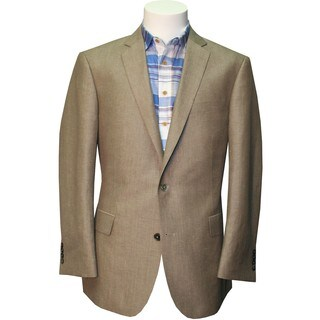"The ""Savannah"" in Tan - Lightweight Linen Luxury Sportcoat"