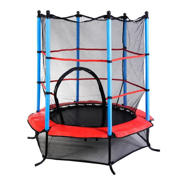 Mini Round Trampoline 1.4m Angled Feet (Thickened Package Box)